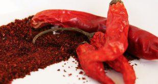 فلفل قرمز خشک در بازار