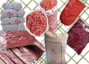 انواع فلفل قرمز صادراتی